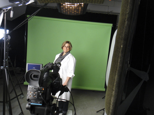 Kristina Svensson i filmstudio