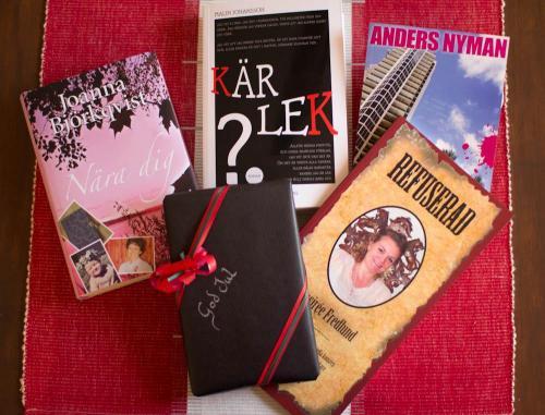 böcker som julklappar