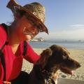 Kristina Svensson morgonpromenad i Antibes