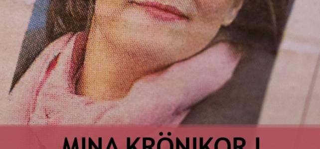 Mina krönikor i Mölndals-Posten finns nu som e-bok