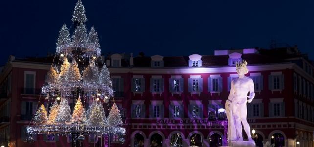 Månadens bild: jul på Place Masséna i Nice