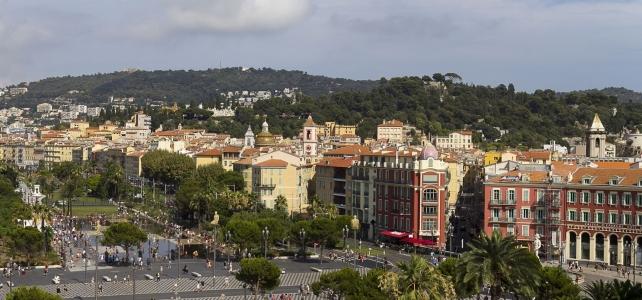 Månadens bild: promenade du Paillon i Nice