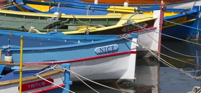 Månadens bild: träbåtar i Nice