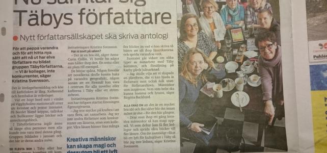 Täbyförfattarna med i Mitt i Täby