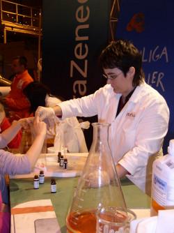 Kristina Svensson på vetenskapsfestivalen