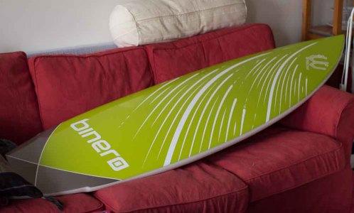 surfbräda i soffa