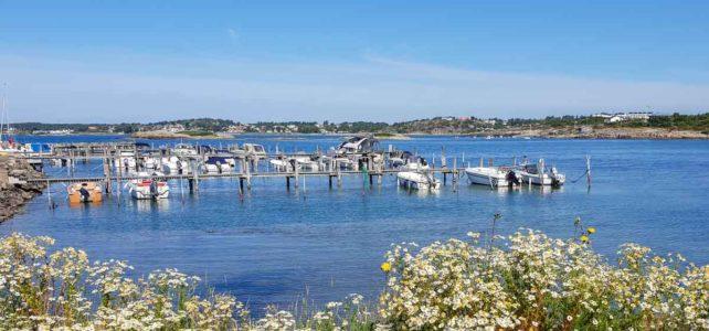Månadens bild: småbåtshamn i Halland