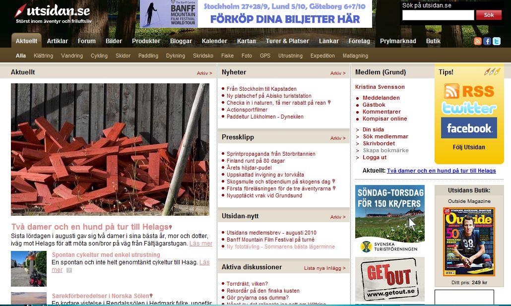 utsidan.se 14 september 2010