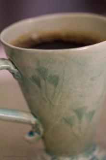 kaffe närbild