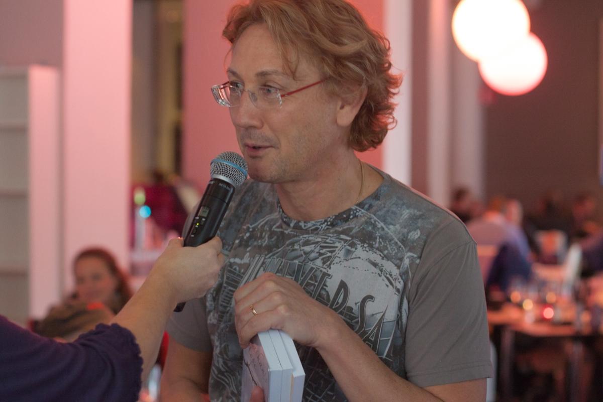 Hans Hirschi foto av Sina Farhat