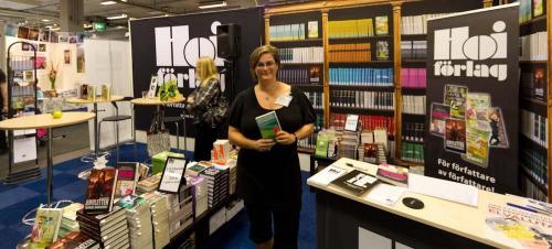 Kristina Svensson på bokmässan