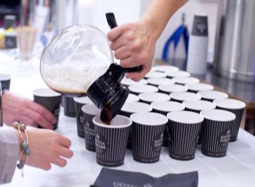 kaffe behövs på bokmässan