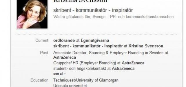 Dags för en svensk profil på LinkedIn