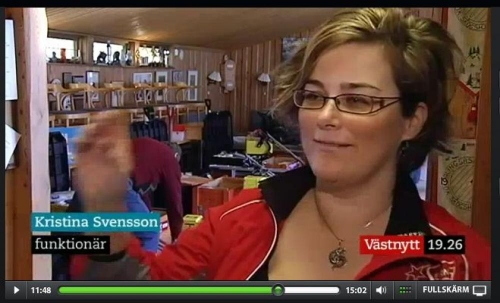 Skärmdump av västnytt 2 mars 2012