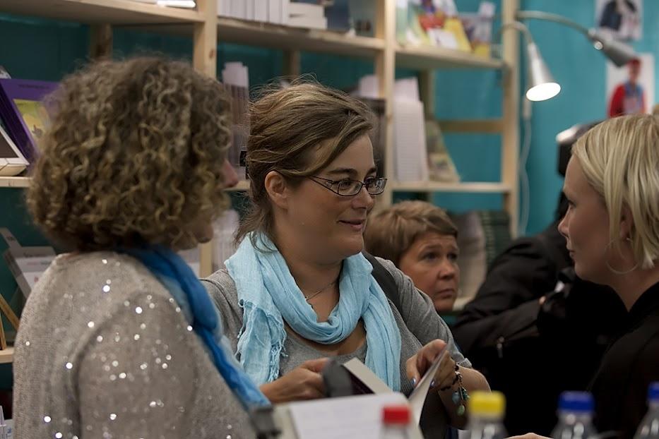 Kristina Svensson på Bokmässan 2012