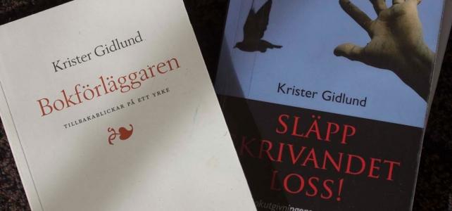 Två böcker om bokbranschen av Krister Gidlund