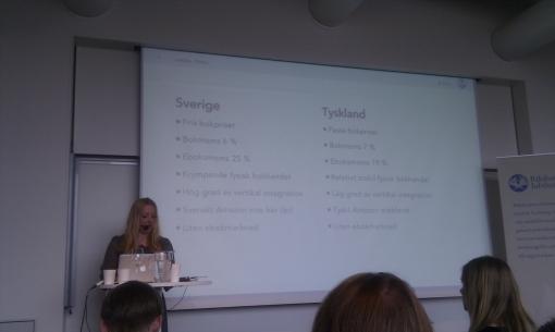 Jämförelse tysk och svensk bokmarknad