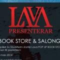 Lava Pop Up Book Store