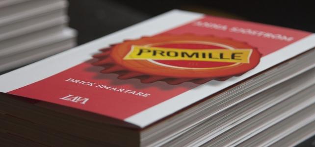 Förläggaren är nästan lika stolt som författaren över Promille