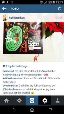 Instagram bokdetektiven