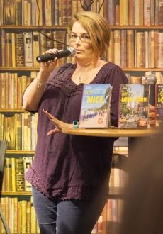 Kristina Svensson pratar om reseguiden Mitt Nice
