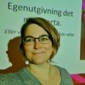 Kristina Svensson föreläser om egenutgivning