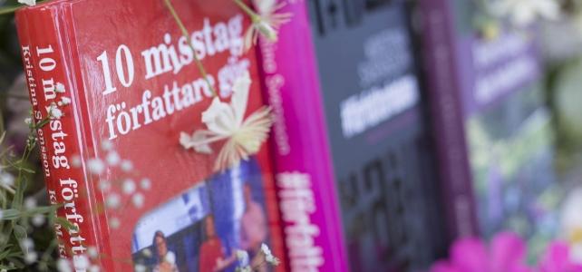 Ny bok: 10 misstag författare gör