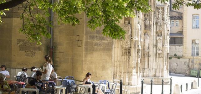 Månadens bild: Lummig paus i Aix