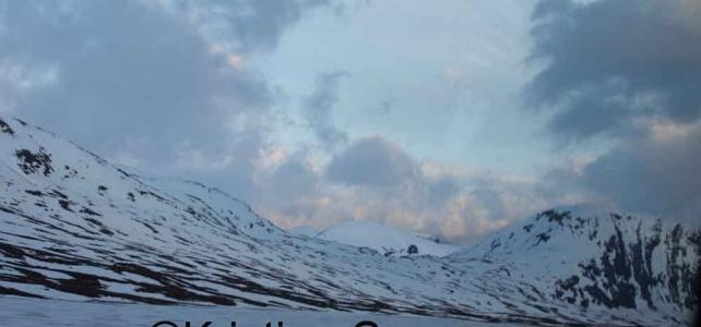 Trött och kall i blåsigt Norge