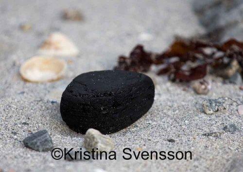 svart sten