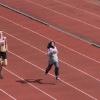Iranska vinner guld på 200 meter