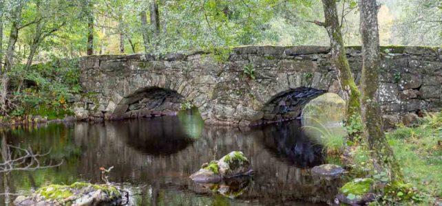 Månadens bild: stenvalvsbro i Marks kommun