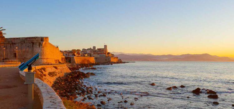 Månadens bild: den klassiska vyn över Antibes