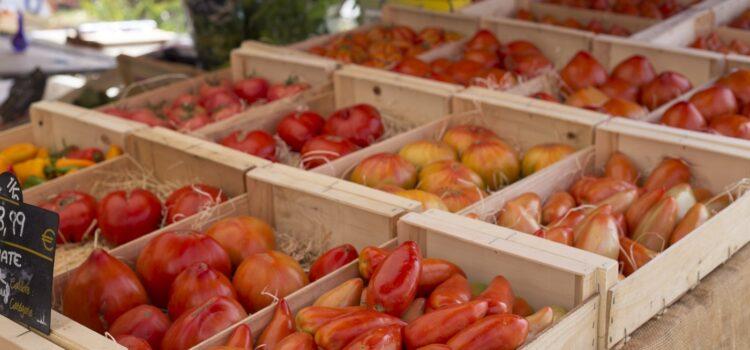 Månadens bild: Tomater på marknad i Bandol