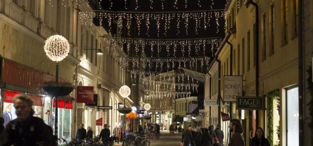 Månadens bild: Julpyntat i Lund