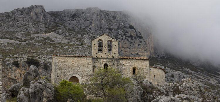 Månadens bild: ruin ovanför Gréolières
